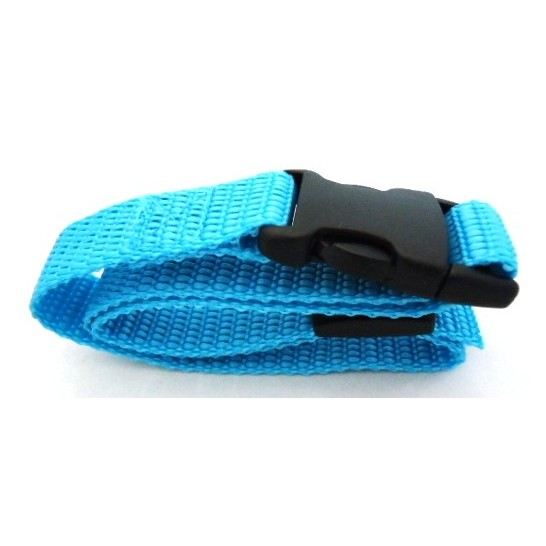 Canicalm First nylon strap - Width 20 mm - Length 64 cm - Teal