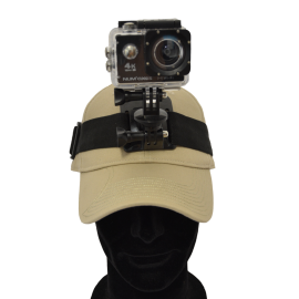 Bandeau de tête pour caméra 4K