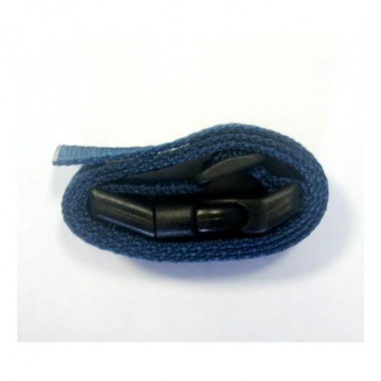 Sangle nylon Canicalm Premium - Largeur 25 mm - Longueur 64 cm - Bleu foncé