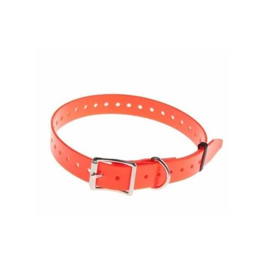 Navidog polyurethane strap - Width 25 mm - Orange