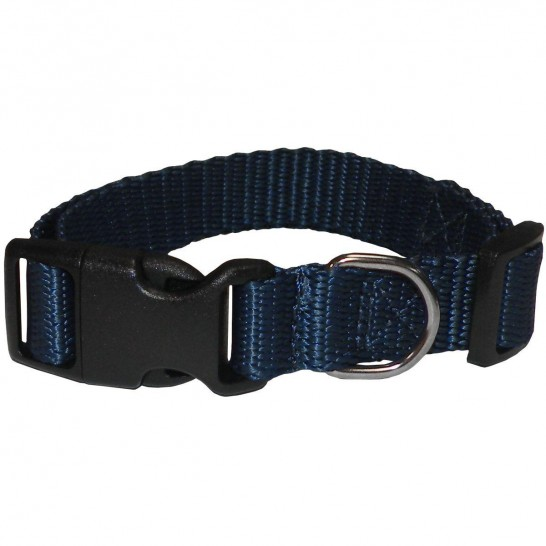 ECO CONECKT navy blue nylon collar