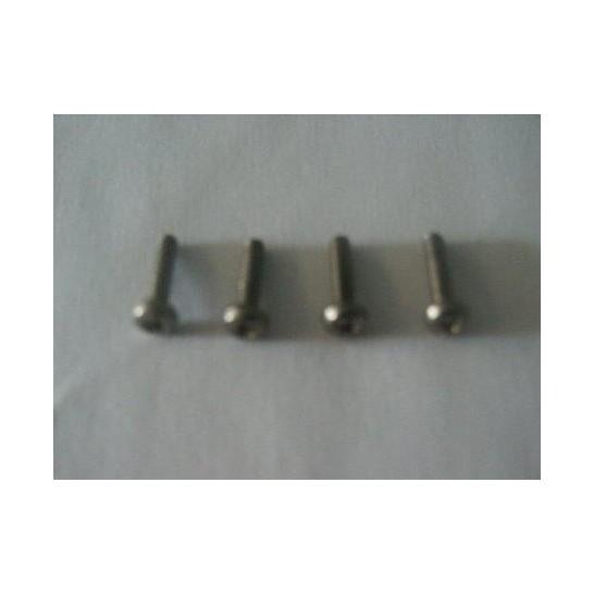 Set of 4 screws for Canifugue FUG1030 / Canifugue Mix FUG1031 pet fencing collar and Canicalm Premium bark control collar