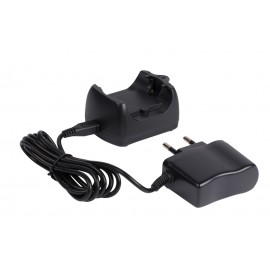 Set of 1 charging base and 1 battery charger for Canibeep 5 beeper collar