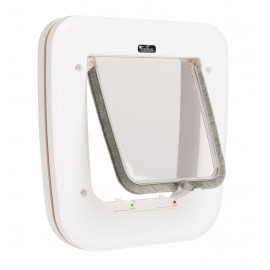 EYENIMAL Classic Cat Door manual cat flap with 4-way locking system