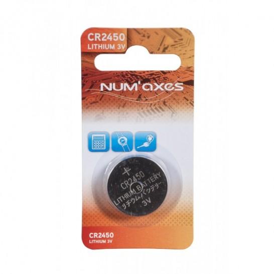 Pile CR2450 lithium 3V