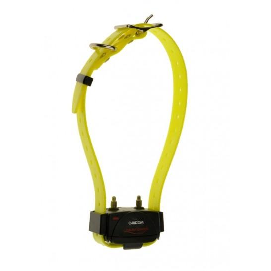 Collier de dressage Canicom avec sangle jaune
