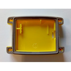 Yellow battery cover with rubber seal for Canibeep Pro and Canibeep Radio Pro beeper collars