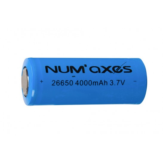 Pile 26650 rechargeable 4000 mAh 3,7 V