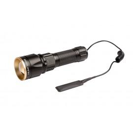Lampe torche LMP1019 - rechargeable - LED multicolores - embout déporté