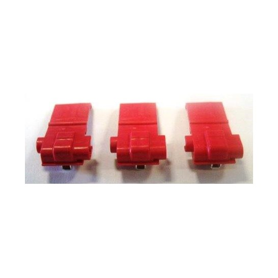 Set of 3 antenna wire connectors for pet fencing systems