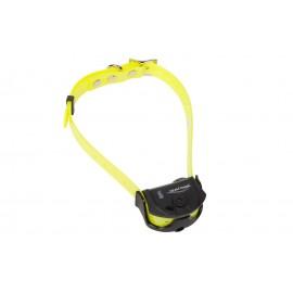 Collier de dressage à spray Canicom Spray avec sangle jaune