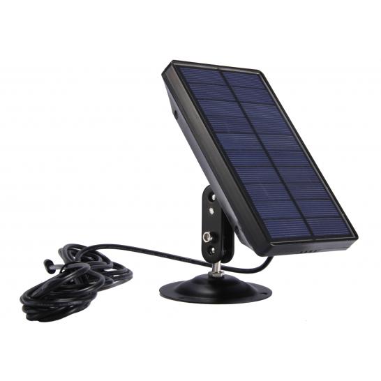 Panneau solaire 6 V avec batterie intégrée pour pièges photographiques PIE1044, PIE1045 et PIE1048