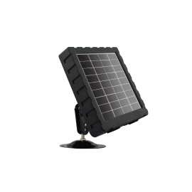 12V solar panel with built-in battery