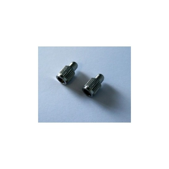 Set of 2 short contact points for Canicalm Premium collar and Canifugue FUG1030 / Canifugue Mix FUG1031 collar