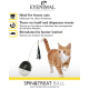 EYENIMAL Spin & Treat Ball - treat dispensing cat toy