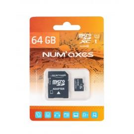 Carte micro SDXC 64 Go classe 10 avec adaptateur