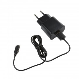 Battery charger + USB cable - 5V - 2 A - with European plug