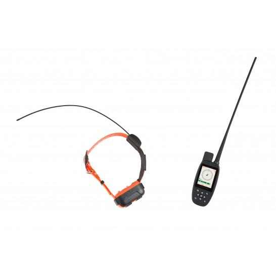 Canicom GPS - ensemble de géolocalisation 2-en-1 : localisation GPS + dressage longue portée