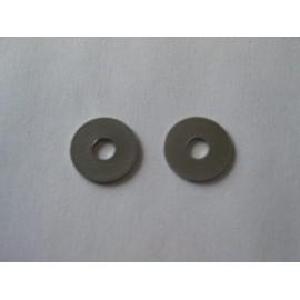 Lot de 2 rondelles pour collier