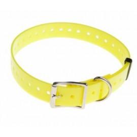 Polyurethane strap - Width 25 mm - Yellow