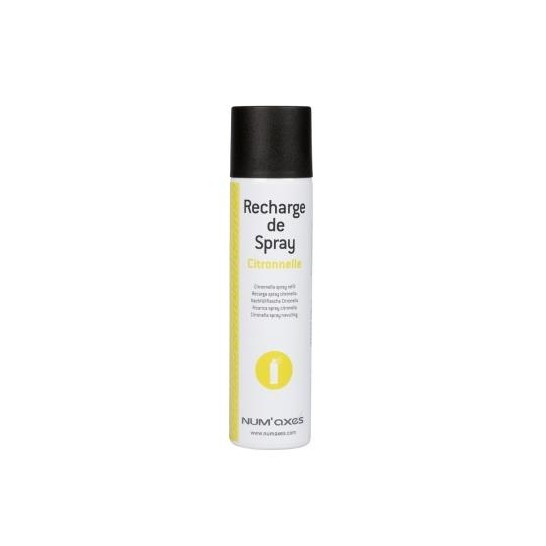 Recharge de spray citronnelle 75 ml