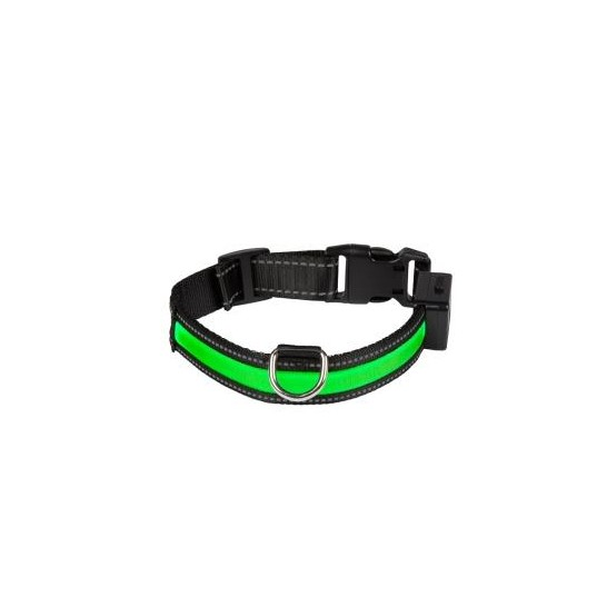 Eyenimal Light Collar USB Rechargeable - Vert