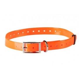 Canicom 5 polyurethane strap - Width 18.5 mm - Orange