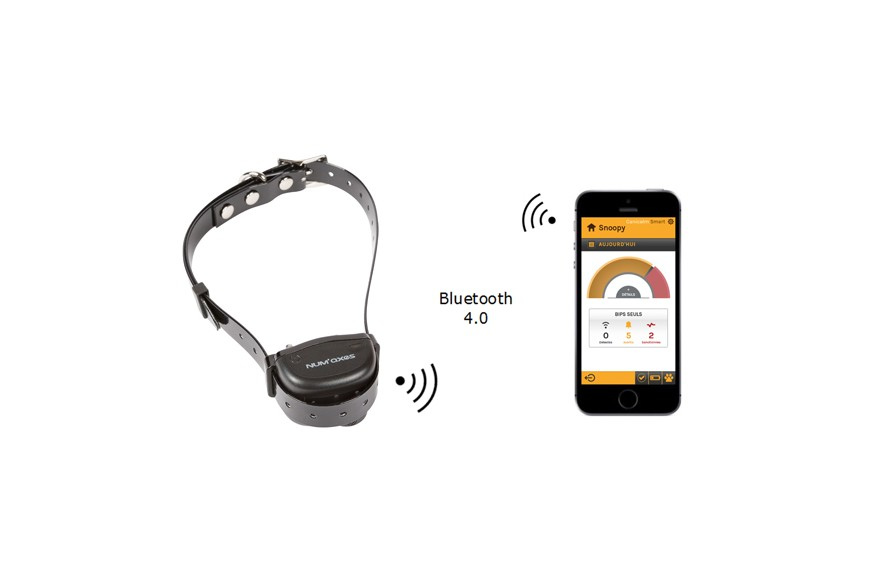 NEW PRODUCT - anti-barking connected by Bluetooth: the Canicalm Smart